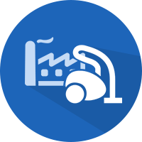 factory cleaning icon