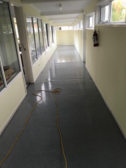 floor buffing