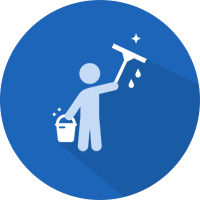 office spring cleaning icon