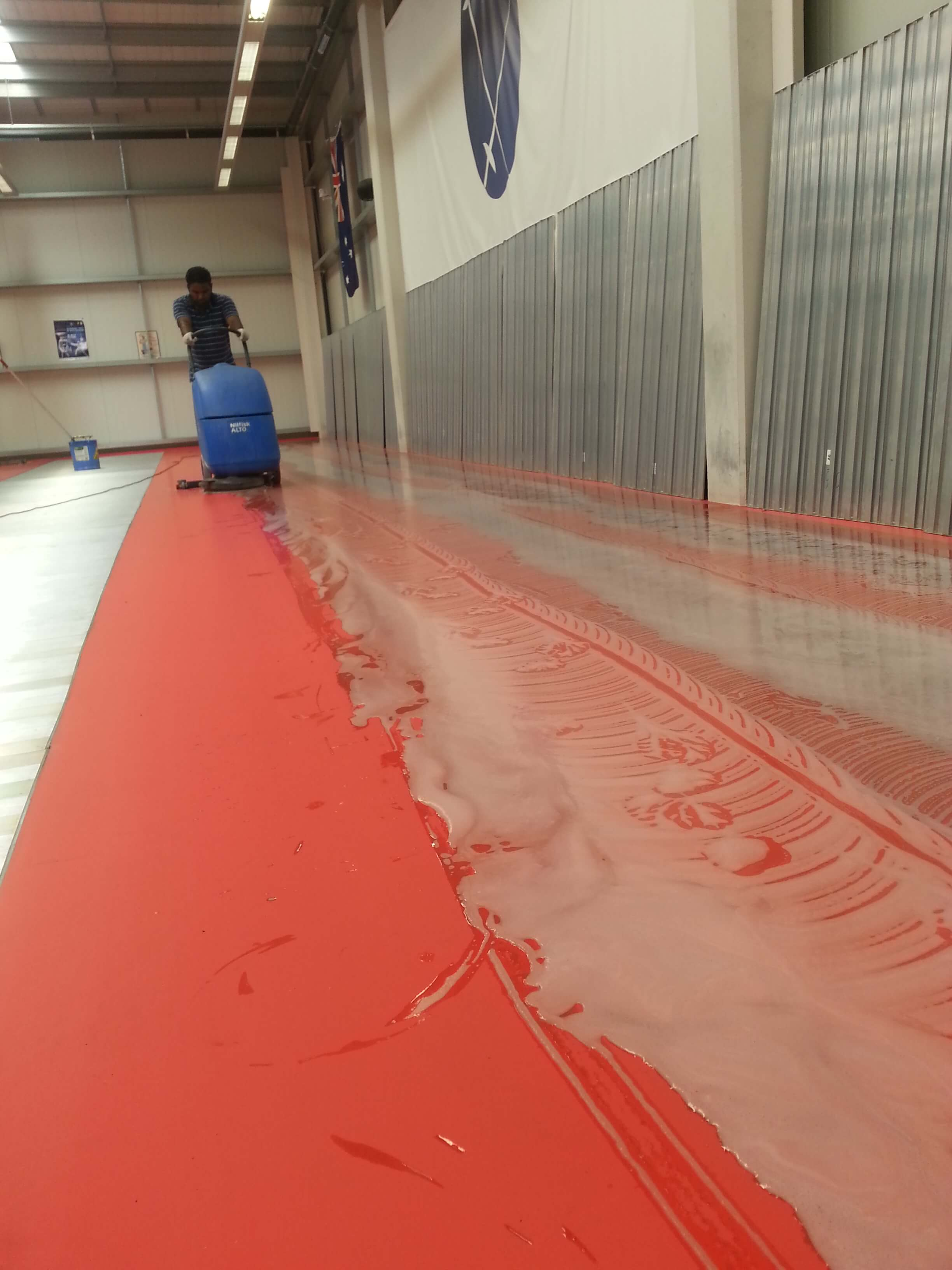 vinaly floor scrub
