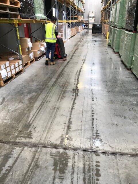 warehouse scrubbing
